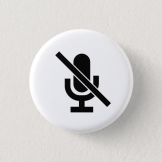 'Mute' Pictogram Button