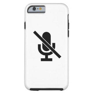 Mute Pictogram iPhone 6 Case