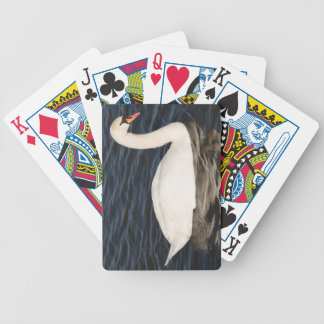 Mute Swan Bicycle Playing Cards