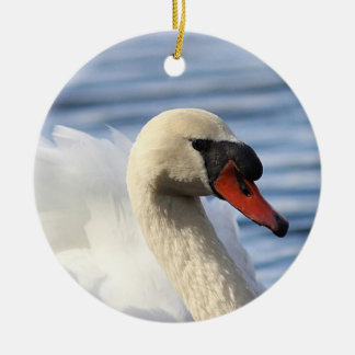 Mute swan christmas ornament