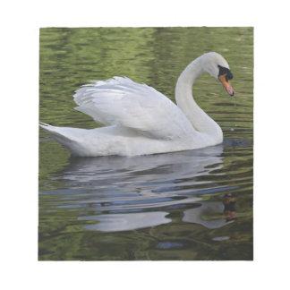 Mute Swan (Cygnus olor) Louisville, Kentucky 2 Notepad