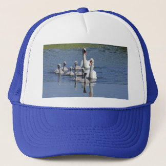 Mute Swan Family Trucker Hat