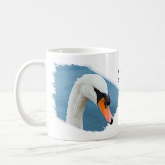 Mute Swan Portrait Coffee Mug