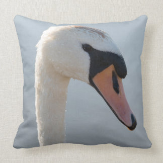 Mute Swan Portrait Cushion
