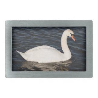 Mute Swan Rectangular Belt Buckles