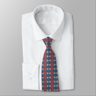 Muted Abstract Tie