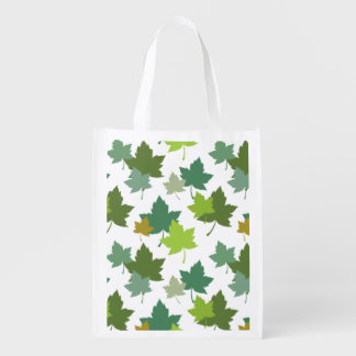 Muted Colors Forest Leaves Pattern