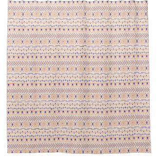 Muted Desert - Tribal - Shower Curtain