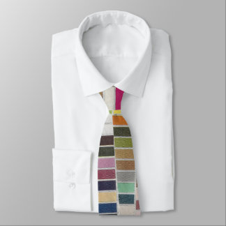 Muted Multicolor Swatches Tie