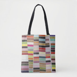 Muted Multicolor Swatches Tote Bag