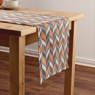 Muted Southwestern Hues Chevron Patterned