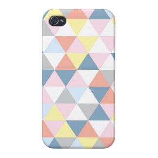 Muted Triangle Iphone4 Case iPhone 4/4S Covers