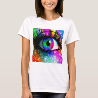 Muti coloured eye T-Shirt