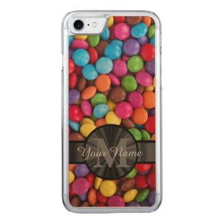 Muticolored colorful candy carved iPhone 8/7 case
