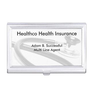 Mutlti Line Insurance Broker Case For Business Cards