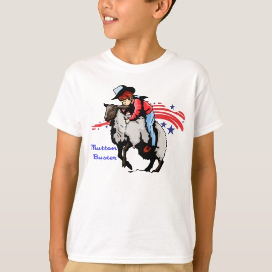 Mutton Buster Rodeo T-Shirt