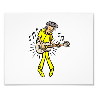 mutton hair guy guitar player yellow png art photo