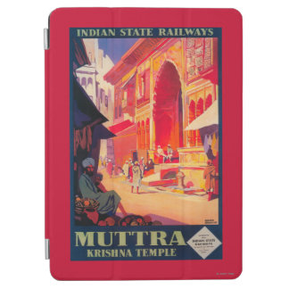 Muttra Krishna Temple Travel Poster iPad Air Cover