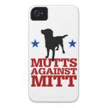 Mutts Against Mitt Case-Mate iPhone 4 Cases