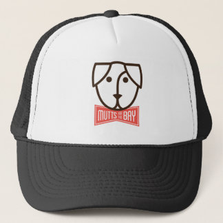 Mutts for the Bay Trucker Hat in Black