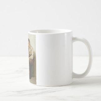 Mutual Admiration ~ Shoe Shine Boy ~ 1898 Basic White Mug