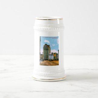 Mutual Saving Bank Bldg Beer Steins