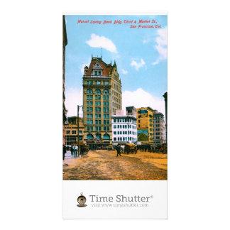 Mutual Saving Bank Bldg Photo Card Template