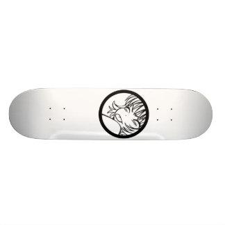 muuhh cute anime skate board