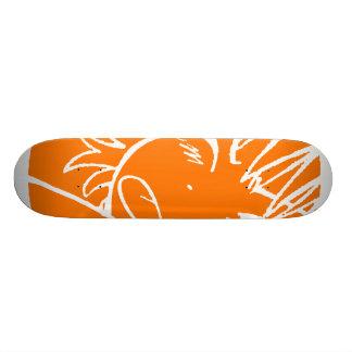 muuhh skate brown 2 19.7 cm skateboard deck