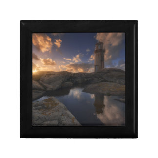 Muxia Lighthouse | Galicia, Spain Small Square Gift Box