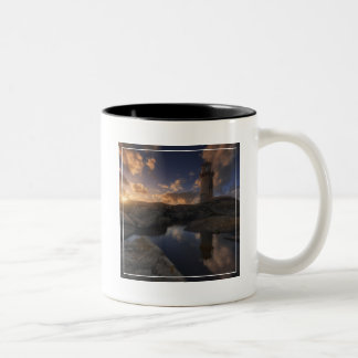 Muxia Lighthouse | Galicia, Spain Two-Tone Coffee Mug