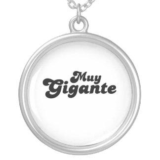 Muy Gigante Custom Necklace