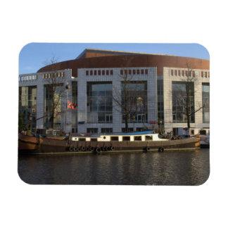 Muziektheater, Amsterdam Rectangular Magnet