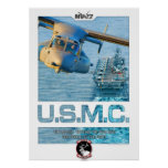 MV22 carrier print with text