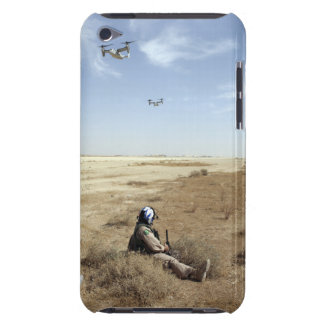 MV-22B Ospreys fly over US Navy Hospital Corpsm iPod Touch Cover