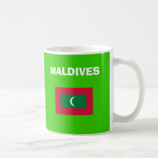 MV Maldives Country Code Mug