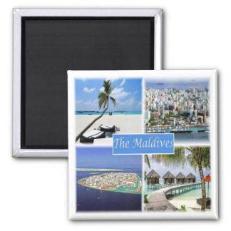 MV * Maldives Magnet