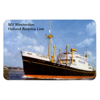 MV Westerdam, Holland America Line Magnet