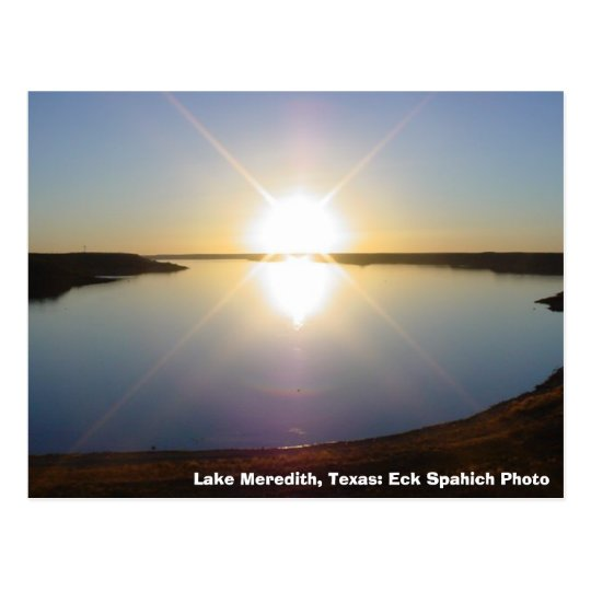 MVC-016S, Lake Meredith, Texas: Eck Spahich Photo Postcard