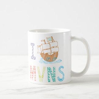 MVNS 2015/2016 Ahoy Matey Pirate Ship Mug