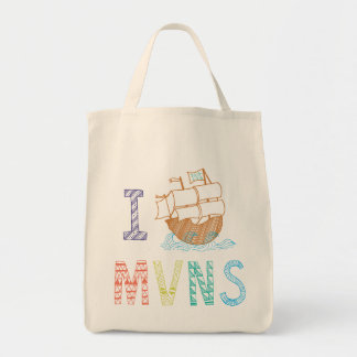MVNS 2015/2016 Pirate Ship Tote Bag
