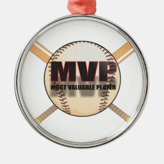 MVP BASEBALL ORNAMENT