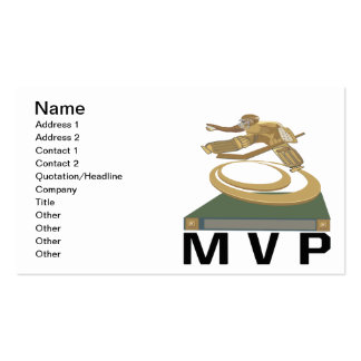 MVP PACK OF STANDARD BUSINESS CARDS