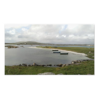 Mweenish Island Boats, Galway Photo Print