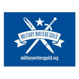 MWG logo postcard, Air Force Academy Blue Postcard