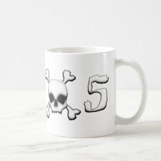 MX5 skull Basic White Mug