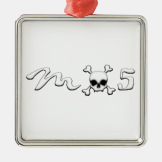 MX5 skull Christmas Ornament