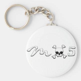 MX5 skull Key Ring