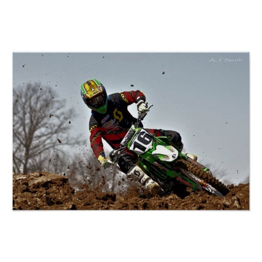 MX Down in the Dirt Poster