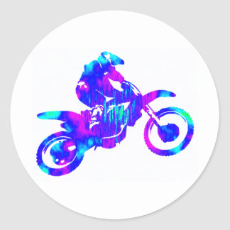 MX INTER GALACTIC CLASSIC ROUND STICKER
